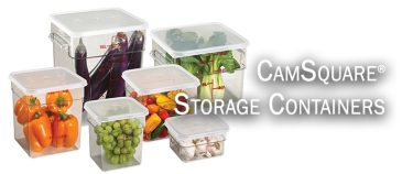 CAMBRO Camsquares Clear group